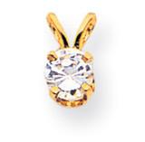Diamond Pendant 14k Gold XP8AA