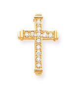 Diamond Latin Cross Pendant 14k Gold XP95AA