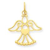 Angel Charm 14k Gold XR1211