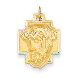 Jesus Charm 14k Gold XR378