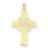 Celtic Cross Charm 14k Gold XR532