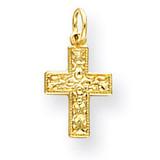 Cross Charm 14k Gold XR587