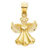 Angel Pendant 14k Gold Polished XR918