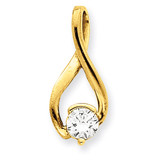 Diamond Slide Mounting 14k Gold XS1199