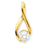 Diamond Slide Mounting 14k Gold XS1200