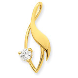 Diamond Slide Mounting 14k Gold XS1227