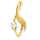 Diamond Slide Mounting 14k Gold XS1228