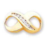 Diamond slide 14k Gold XS127AA