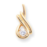 Holds 5mm Stone, Slide Mounting 14k Gold XS243