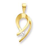 Diamond slide 14k Gold XS257AAA