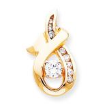 Diamond slide 14k Gold XS539AA