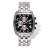 Mens Mountroyal Chronograph Stainless Steel Black Calendar Watch XWA1216