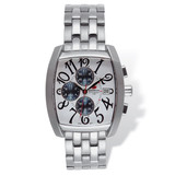 Mens Mountroyal Chronograph Stainless Steel White Calendar Watch XWA1217