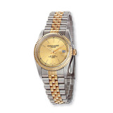Mens Charles Hubert IP-plated Two-tone Gold-tone Dial Watch XWA499
