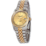 Ladies Charles Hubert IP-plated 2-tone Gold-tone Dial 26mm Watch XWA500