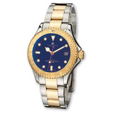 Mens Charles Hubert IP-plated Two-tone Blue Dial Watch XWA501