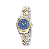 Ladies Charles Hubert Two-tone Stainless Steel Blue Dial Watch XWA593