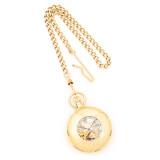 Charles Hubert Gold Finish Pocket Watch XWA612