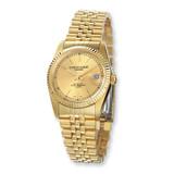 Mens Charles Hubert IP-plated Gold-tone Dial Watch XWA979