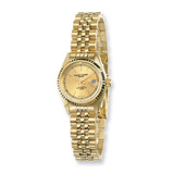 Ladies Charles Hubert IP-plated Gold-tone Dial Watch XWA980