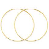 1.25mm Endless Hoop Earring 14k Gold XY1214
