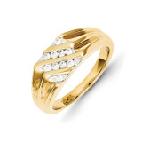 Diamond Mens Ring 14k Gold Y11202AA