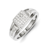 Diamond Men's Ring 14k White Gold Y11213AA