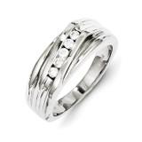 Diamond Men's Ring 14k White Gold Y11233AA