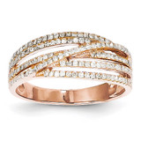 Diamond Ring 14k Rose Gold Y11836AA