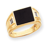 Men's ring mounting 14k Gold Y1542