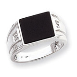 Men's ring mounting 14k White Gold Y1543