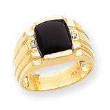 Men's ring mounting 14k Gold Y1548