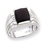 Men's ring mounting 14k White Gold Y1549