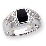 Men's ring mounting 14k White Gold Y1562