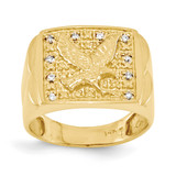 Diamond men's ring 14k Gold Y1565AA