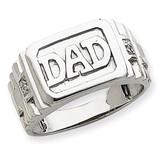 Diamond men's ring 14k White Gold Y1606AA