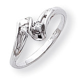 Diamond ring 14k White Gold Y1666AA