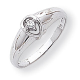 Diamond ring 14k White Gold Y1686AA