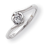 Diamond ring 14k White Gold Y1707AA
