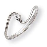 Diamond ring 14k White Gold Y1717AA