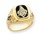 masonic ring mounting 14k Gold Y4035