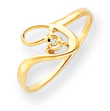 Diamond ring 14k Gold Polished Y4261AA
