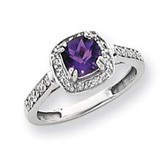 Diamond & Gemstone Ring Mounting 14k White Gold Y4424