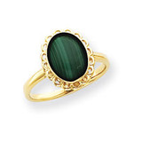 Gemstone Ring Mounting 14k Gold Y4494