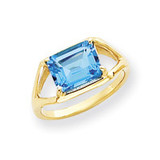 Gemstone Ring Mounting 14k Gold Y4538