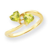 Gemstone Ring Mounting 14k Gold Y4584