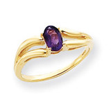 Gemstone Ring Mounting 14k Gold Y4646
