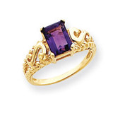 Gemstone Ring Mounting 14k Gold Y4677