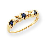 Diamond & Gemstone Ring Mounting 14k Gold Y4718