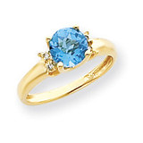 Diamond & Gemstone Ring Mounting 14k Gold Y4720